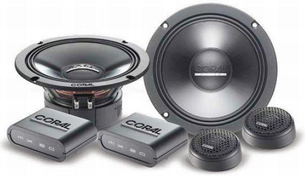 ΗΧΕΙΑ ΔΙΑΙΡΟΥΜΕΝΑ CORAL MK160 στο X-treme Audio