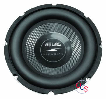 "AS12 (as12r) 12"" High Performance Subwoofer Atlas Hifonics στο X-treme Audio"