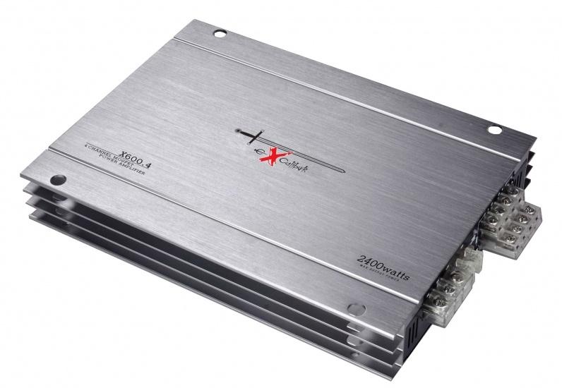 Ενισχυτής αυτικινήτου Excalibur X600.4 2400W στο X-treme Audio