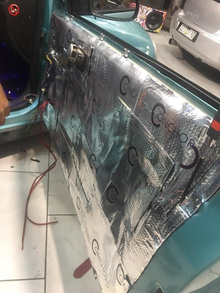 μόνωση αυτοκινήτου Conchord DB 1 στο X-treme Audio
