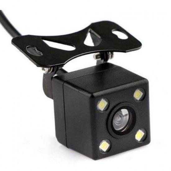 Κάμερα οπισθοπορείας αυτοκινήτου με 4 led για νυχτερινή λήψη (universal) στο X-treme Audio